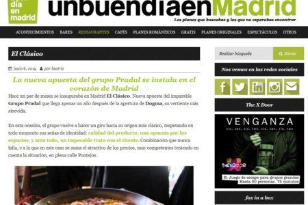 El Clásico en UnBuenDíaEnMadrid (06.06.2019)